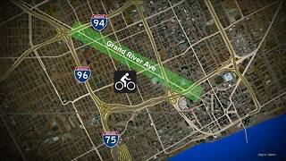 Bike lanes coming to Grand River in Detroit - Video
