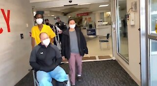 The Moment Capitol Police Officer Left Hospital After Friday Attack