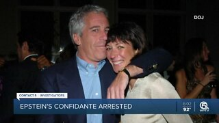Former Epstein confidante arrested, faces multiple charges