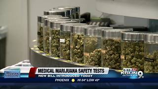 Bill would require medical pot safety testing