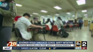 Governor Hogan announces school safety initiatives