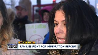 Amid immigration reform debate, families speak out against President, Congress - Video