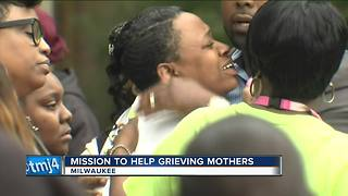 Milwaukee mom on a mission to help mother's of homicide victims - Video