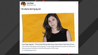 Trump Responds To Lisa Page Slamming Him In Interview