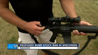 Wisconsin Democrats propose bill banning bump stocks - Video