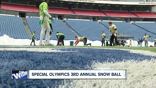 Third annual Snow Ball flag football tournament for special olympics
