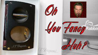 S.T. Dupont Double Cigar Cutter Review - Should I Smoke This