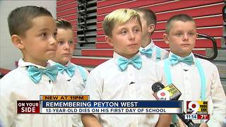 Remembering a boy who died on first day of school - Video