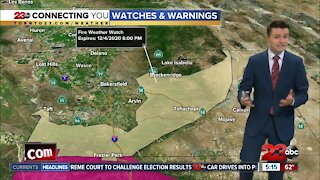 23ABC Evening weather update December 1, 2020
