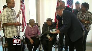 Local Veteran receives Purple Heart and other honors