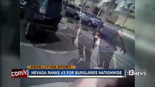 Nevada ranks 3rd for burglaries nationwide - Video