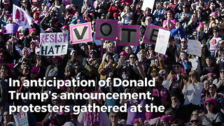 Women's March Releases Statment Attacking Trump's SCOTUS Decision, Completely Forget His Name - Video