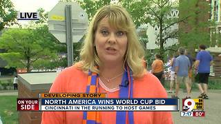 North America wins World Cup bid - Video