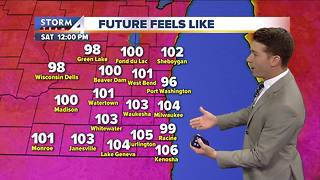 Excessive Heat Warning issued for Fri., Sat.