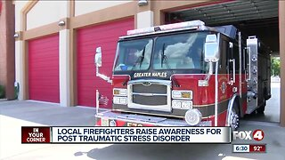 Fire department helps to raise PTSD awareness