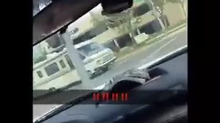RV chase along Truxtun Avenue Video - Video
