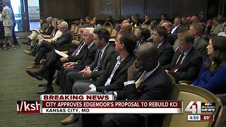 City Council votes to accept Edgemoor proposal for new KCI terminal - Video