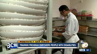 San Diego training program empowers people with disabilities