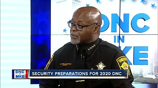 Sheriff Earnell Lucas talks security preparations for the DNC