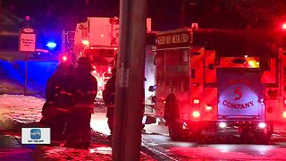 Fire at assisted living facility in Allouez