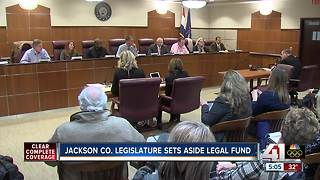 Jackson County Legislature sets aside legal fund - Video