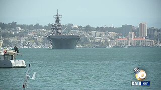 Three ships deploy from Naval Base San Diego
