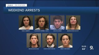 Tucson police release names, charges of 19 arrested during weekend protests 10p