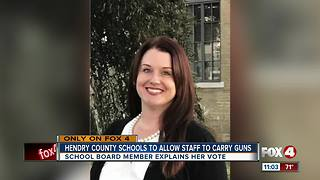 Hendry County Schools to allow staff to carry guns - Video