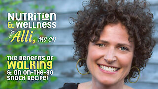(S5E10) Nutrition & Wellness with Alli, MS CN - Walking