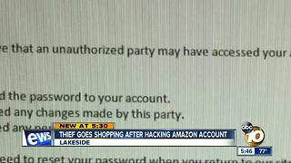 Thief goes shopping after hacking Amazon account - Video