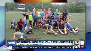 Get Fit Sports Performance & Boot Camps say Good Morning Maryland - Video