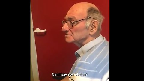'Grandpa's reaction to the What the Fluff Challenge was... unexpected' Wait for it