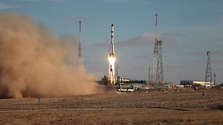 Russian Cargo Ship Launches For International Space Station