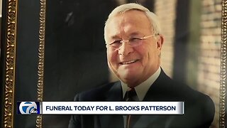 Funeral today for L. Brooks Patterson is open to the public
