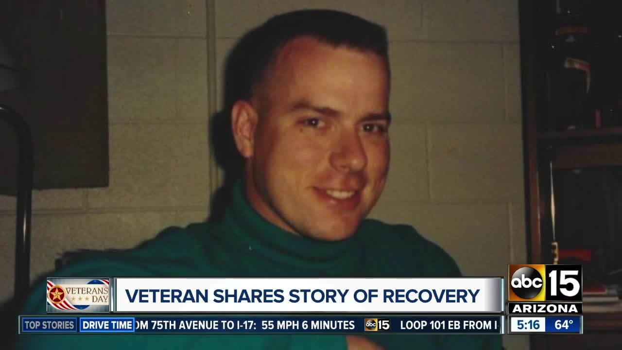 Valley veteran shares story of recovery