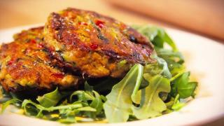 Crispy Zucchini Cakes - Video