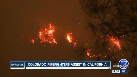 California fires present new challenge for Colorado firefighters