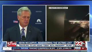 President Trump and House Majority Leader Kevin McCarthy visiting Las Vegas today, Wednesday