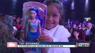 Las Vegas church provides gifts to brighten local children's Christmas