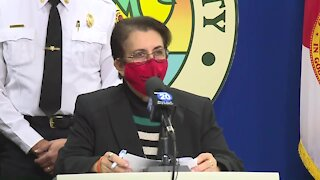 Palm Beach County leaders give update on COVID-19 vaccine distribution