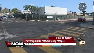 Parents push for roadway safety changes - Video