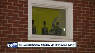 Settlement reached in hazing death of Nolan Burch - Video