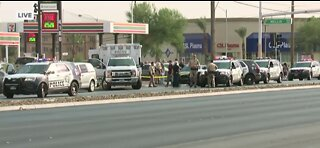 Teen dead after being shot in Las Vegas