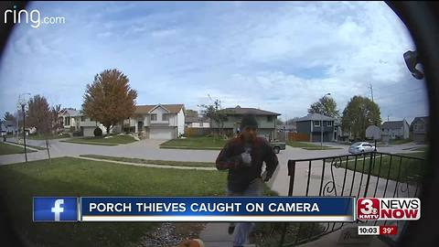 Officials looking for package thieves