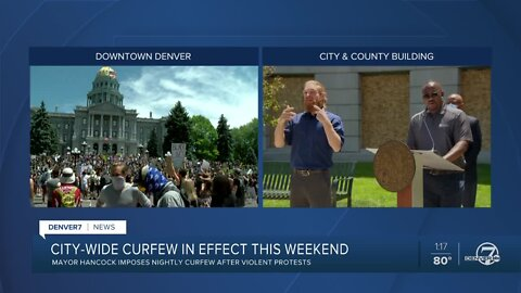 'We will be enforcing the curfew': Denver leaders urge people to stay home Saturday