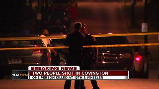 Covington street sees second shooting in days - Video