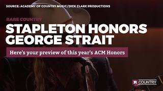 Chris Stapleton honors George Strait | Rare Country - Video