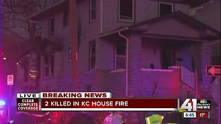 KCFD: Two people dead in house fire at 42nd and Locust - Video