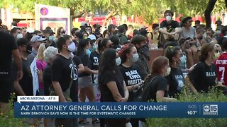 Arizona AG calls for systemic change across state