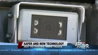 New safety features and technology for Tucson Fire's engines and medic trucks - Video